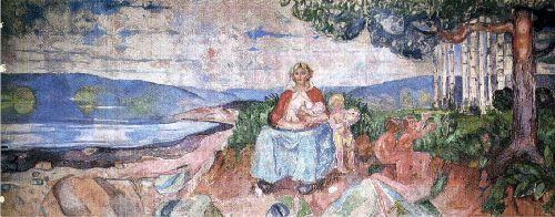 Alma Mater | Edvard Munch | oil painting