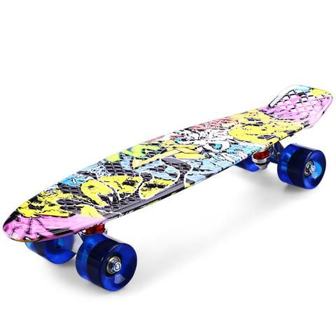 Freestyle Printing Street 22 inch Long Skate Board