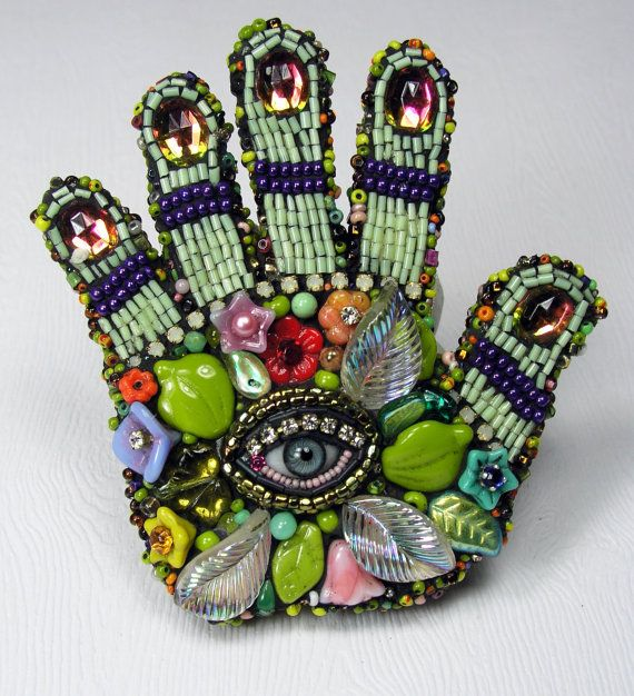 Palm reader by Betsy Youngquist. (Love this. . .)