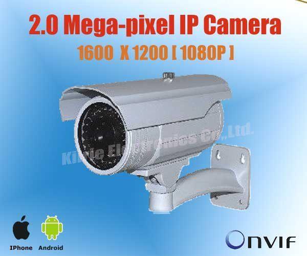 Дешевое 2 мегапиксельная сетевая IP камера HD 1600 x 1200 пуля из светодиодов POE 2.0 Мп безопасности на открытом воздухе, Iphone IP камера, Модель KE HDC432, Купить Качество Surveillance Cameras непосредственно из китайских фирмах-поставщиках:                   Характеристика продукта                          1.    2.0 мегапиксела ИК купольная Са  мера,       Вы