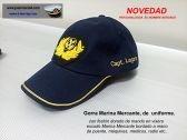 Gorra de uniforme capitán de la Marina Mercante. Personalizada. JoanMacia 4