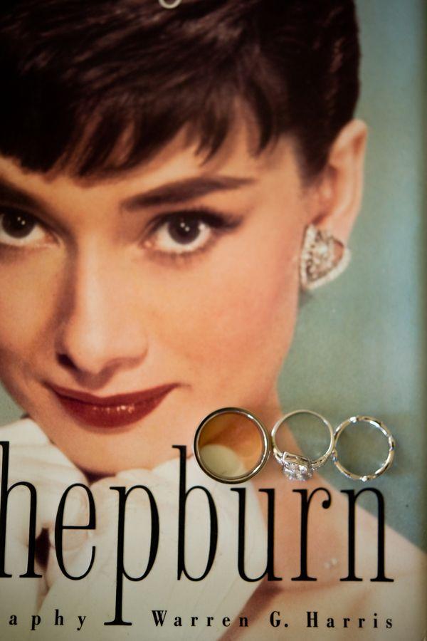 California Chic Jewish Wedding Audrey Hepburn Wedding