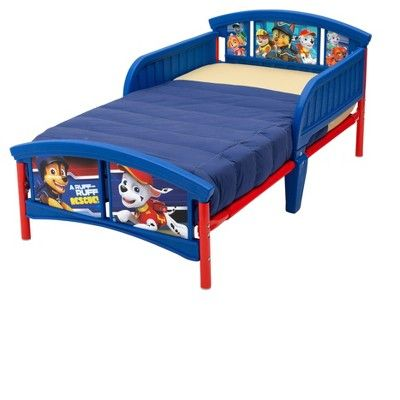 Delta Children Nick Jr. Paw Patrol Plastic Toddler Bed,