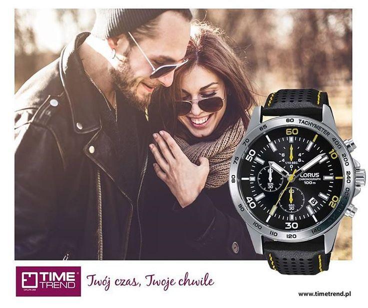Sportowy, precyzyjny, męski... po prostu taki jak Ty!  Zobacz naszą ofertę zegarków Lorus: bit.ly/tt10102016  www.timetrend.pl  #zegarek #zegarekmeski #lorus #loruswatches #polishboy #meski #dlafaceta #timetrend #sport #zegarki #chronograph #czarny