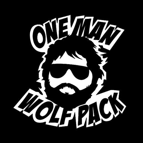One Man Wolf Pack Print 250php Material To Be Used Vinyl
