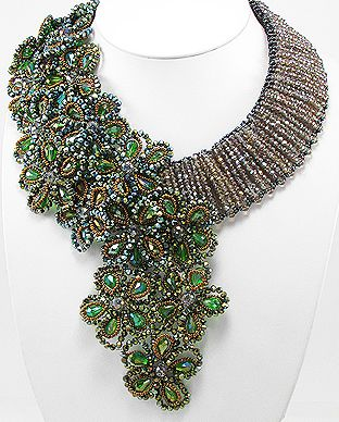 beaded neck piece