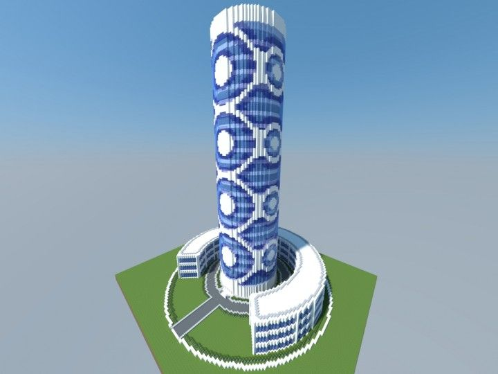 Quartz Tower #1 Minecraft Project