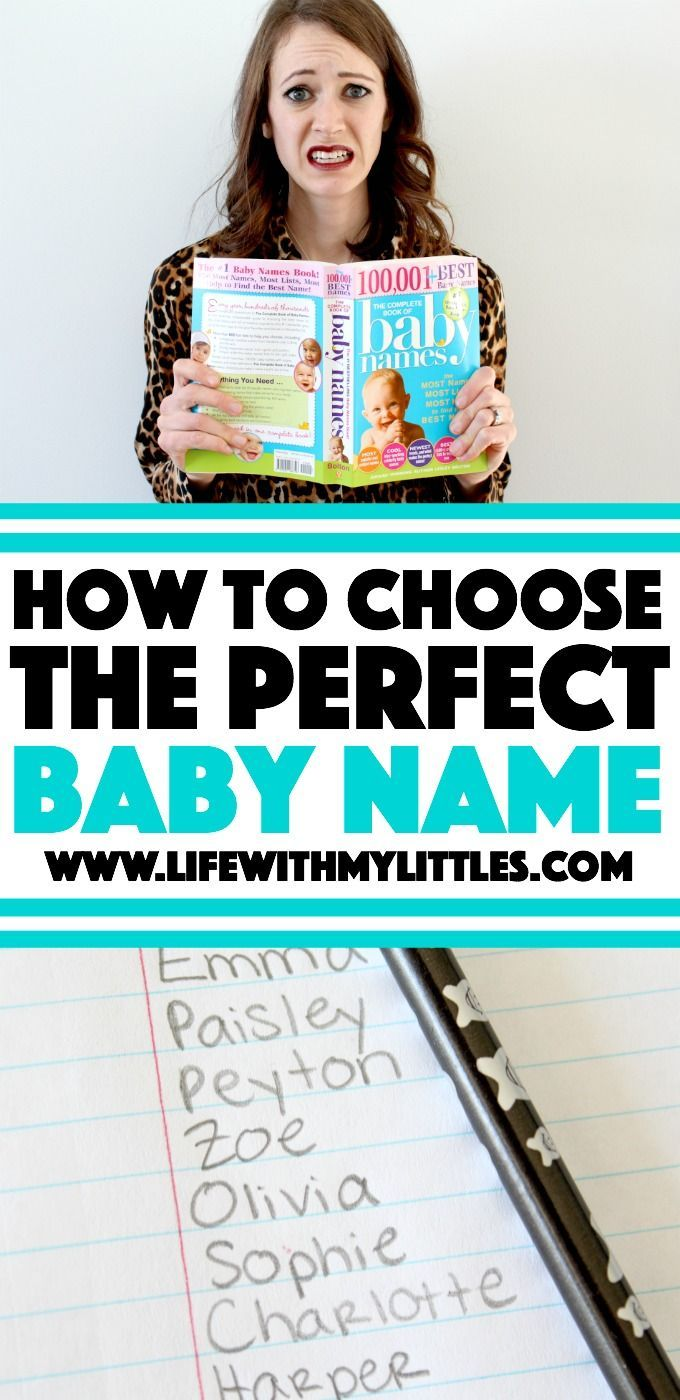 Not sure how to choose the perfect baby name? Check out this list of helpful tips and resources for choosing a baby name! #ad