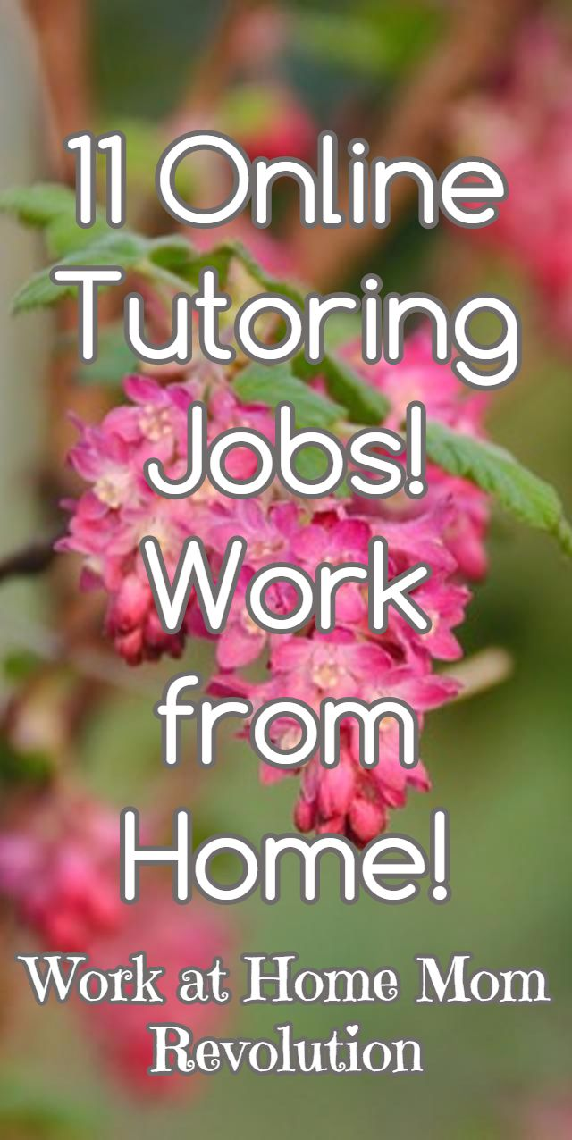 1000 ideas about online job opportunities jobs at 11 online tutoring jobs work from home work at home mom revolution