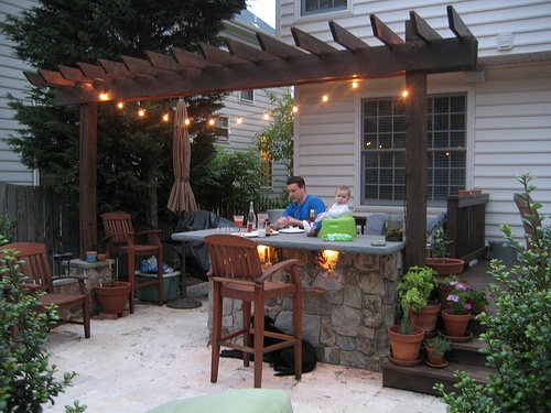 Colored String Lights For Patio : Accent your patio area with string lights. For cost-effective, shorter lengths, consider Globe ...