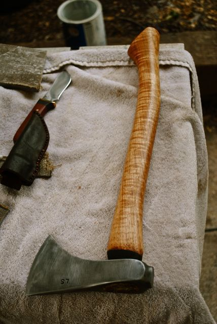 kindling axe bloodrootblades awesome work made with reclaimed ball pean hammers.