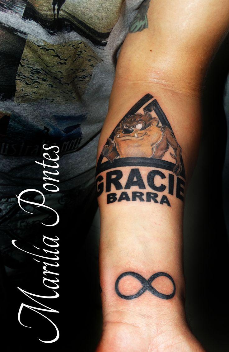 gracie barra taz very dapper pinterest tatoo tattoo and tatting. Black Bedroom Furniture Sets. Home Design Ideas