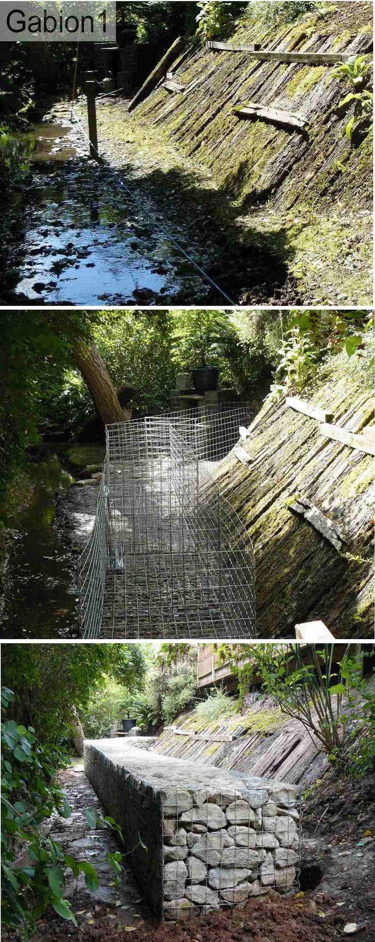 Best 25 erosion control ideas on pinterest living for Gabion landscaping