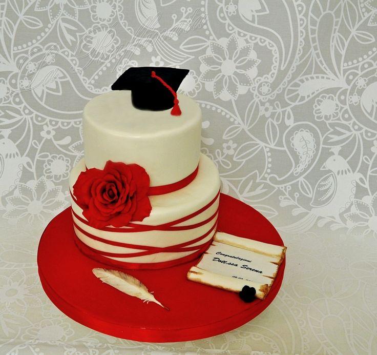 Risultati immagini per torta laurea a piani