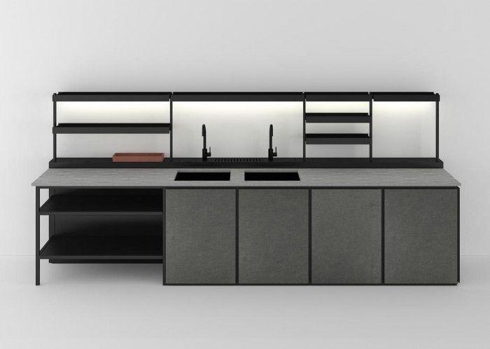Patricia Urquiola designs 'Salinas' for Boffi.  Salinas is Urquiola's first venture into kitchen.