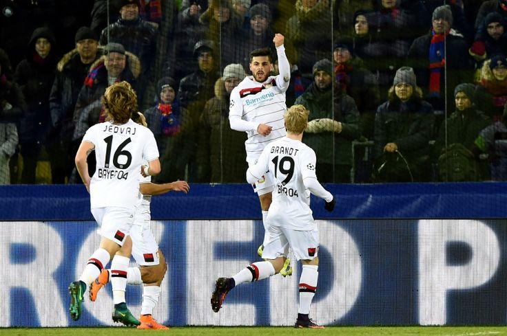 Leverkusen hold on for CSKA draw in Champions League   Moscow (AFP)  Bayer Leverkusen played out a 1-1 draw at CSKA Moscow on Tuesday to put the German club on the verge of qualifying for the Champions League knockout stages.  Kevin Volland put Leverkusen ahead after 16 minutes before Israeli international Bibras Natcho converted a second-half penalty to snatch a draw for the Russian club.  Leverkusen will be assured of qualifying if Monaco beat English club Tottenham in Group E later…
