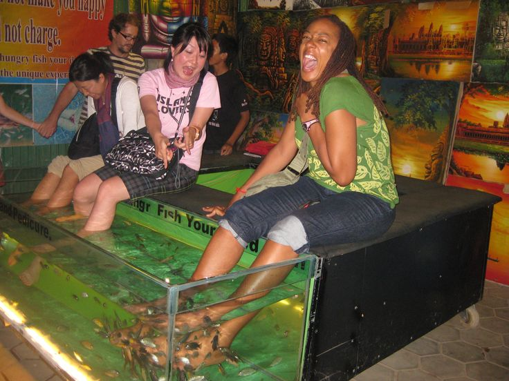 fish pedicure gone wrong google search fun to do