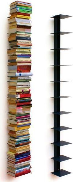 Bücherturm (Bücherregal, 18cm, 170cm)