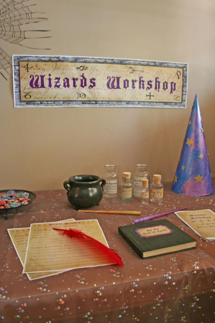 Children's Halloween Activity Kit WIZARDS WORKSHOP by FarragoKids, $11.00
