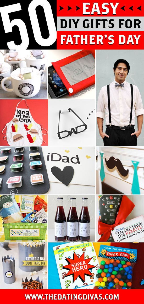 50 DIY Father's Day Gift Ideas