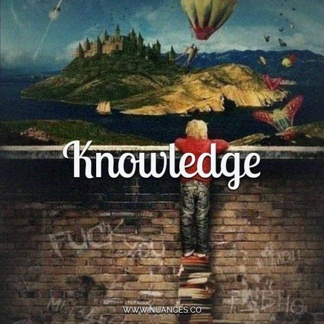 Knowledge is the mightiest weapon! #Nuances #Knowledge http://nuances.co/n/nuance/547f94ac53837520383ce6a7
