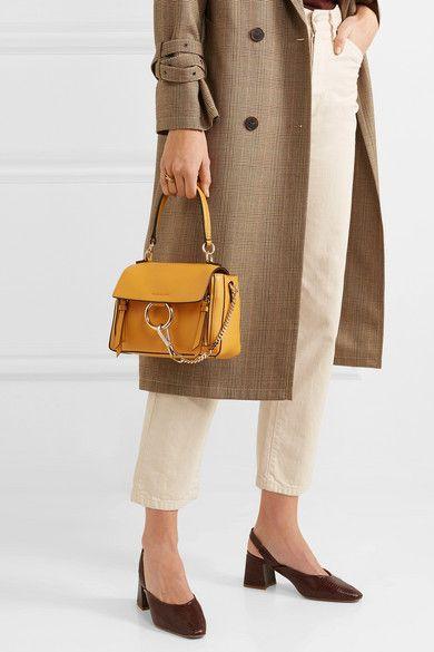 05b65d045 Chloé | Faye Day mini textured-leather shoulder bag | NET-A-PORTER.COM