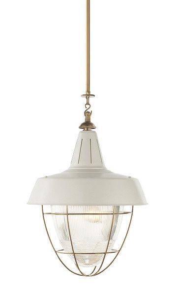 Henry Industrial Hanging Light  Brand: Visual Comfort