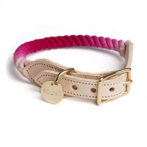 Rope Collar Magenta Ombre