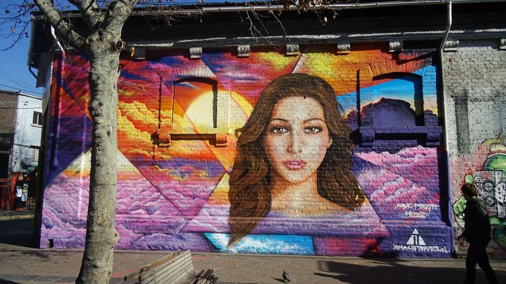 Mural en Pionono  #mural #graffiti #streetart #kode #alanzarate #barriobellavista