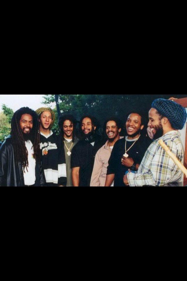 The Marley Brothers: Robert, Julian, Ky-Mani, Rohan, Stephen &. Marley BrothersBob Marley SonsDamian ...