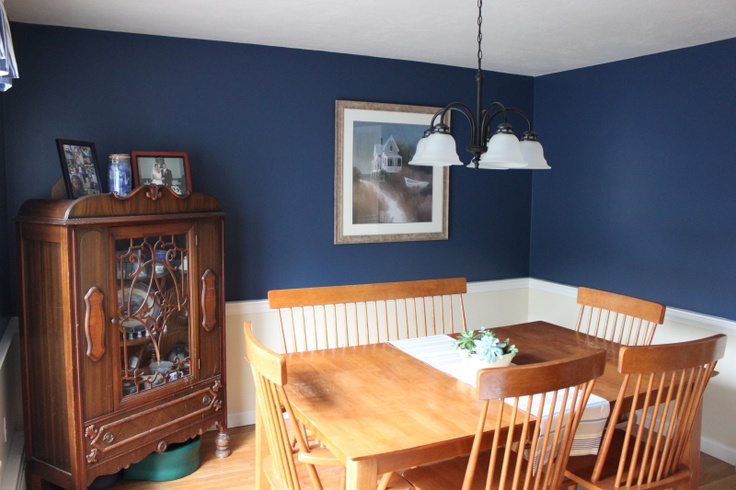 Dining Room Benjamin Moore Hudson Bay 1680 Home Sweet