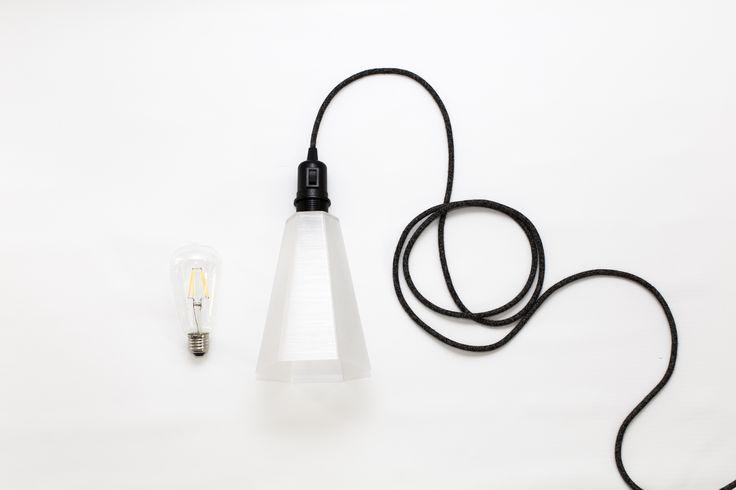 PLYSET Lamp F01 - 3D printed lampshade - www.plyset.cc