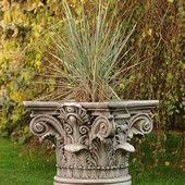 Classic jardinières Height: 68 cm Weight: 158 kg Lower width: fi 55 cm Upper width: 63x63 cm
