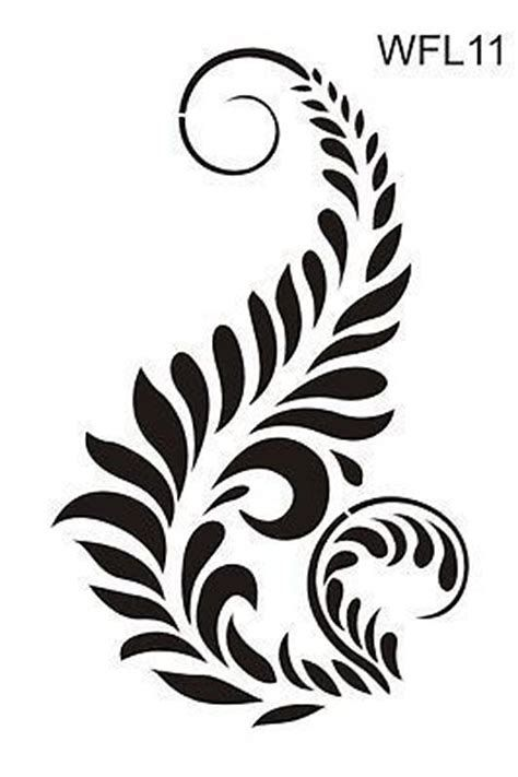 Image result for damask stencil printable free Large Stencils