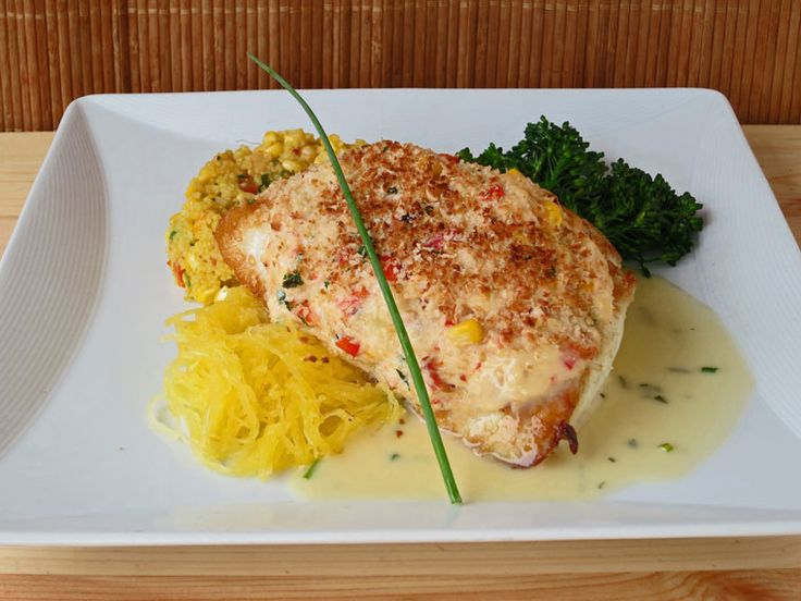 If ever there was a gift from the sea, fresh Pacific Halibut is one of the greatest gifts. So succulent in flavor with a mild sweetness… oh baby, if halibut is on the table I'm comin' over for dinner! And serving fresh Halibut with Dungeness Crab Topping, I'll bring the wine, massage your shoulders, and...
