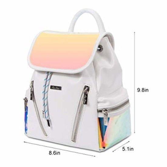 RenDian Women/'s Mini Cute Fashion Backpack Purse Anti Theft Leather Shoulder Bag