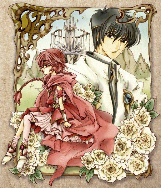 Magic Knight Rayearth Lantis and Hikaru   Imagen anime1024x1194 con magic knight rayearthshidou ...