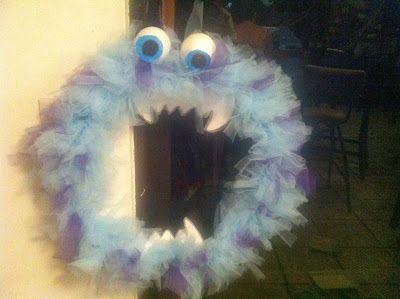 DIY: Corona de Monstruo Halloween