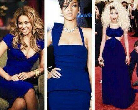 Beyonce,Rihanna, Nicki Minaj