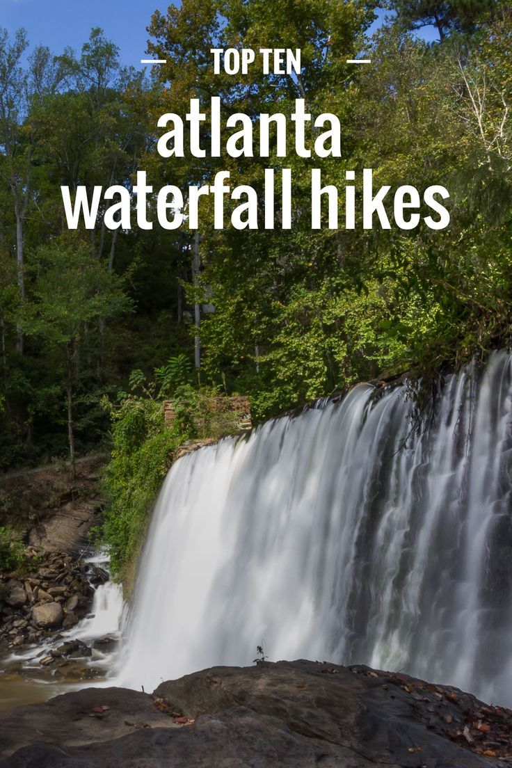 Why you should travel to Atlanta: It's not just for city lovers! Atlanta has some great hiking destinations, even with waterfalls!