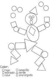 Resultado de imagen para elaboracion de robot con figuras geometricas
