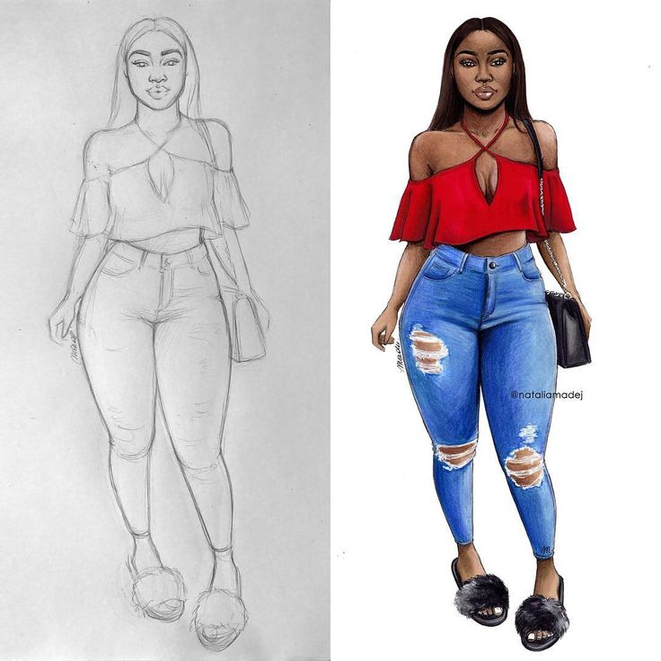 "21.4 k mentions J'aime, 100 commentaires - Natalia Madej (@nataliamadej) sur Instagram: "" #fashiondrawing #fashionillustration  #drawing #illustration #art #artist #fashionable…"""
