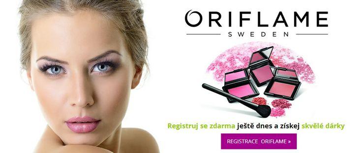 Registruj se zdarma ještě dnes a získej skvělé dárky za svou první objednávku. http://www.oricosmetics.cz/