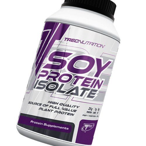 Soy Protein Isolate Best High Quality Source of Plant Protein - Vanilla - Trec Nutrition. Soy Protein Isolate Best High Quality Source of Plant Protein - Vanilla - Trec Nutrition.