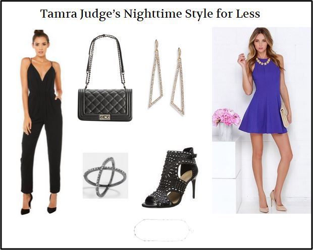 Celebrity Style Guide: Steal Tamra Judge's Nighttime Style for Real and For Less http://www.bigblondehair.com/real-housewives/rhoc/celebrity-style-guide-tamra-judge/