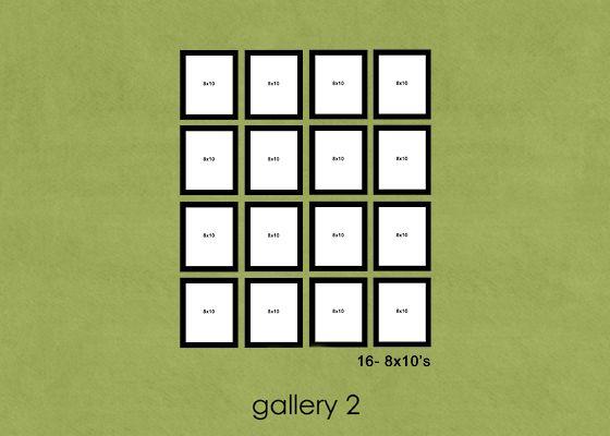 So many ideas for photo wall layouts!