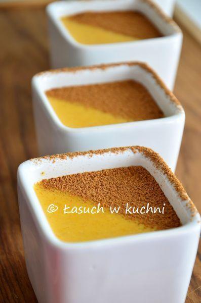 Łasuch w kuchni: Budyń z dyni piżmowej / Butternut squash pudding