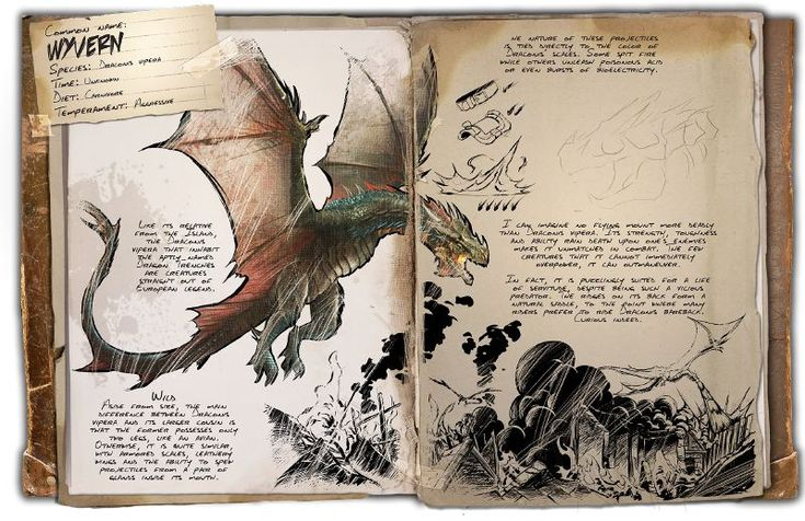 The Wyvern is one of the creatures in the ARK: Scorched Earth expansion pack. Adult Wyverns can not be tamed. In order to get a tamed wyvern, the player must steal and hatch a Wyvern Egg.