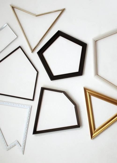 Odd Shaped Frames By Artist Guillem Ferran Desmarcos: odd shaped mirrors