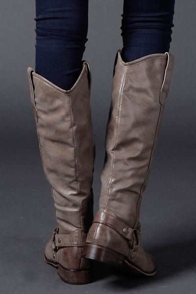Bistre Tall Boots Love Them The Color Is Fantastic Clothes
